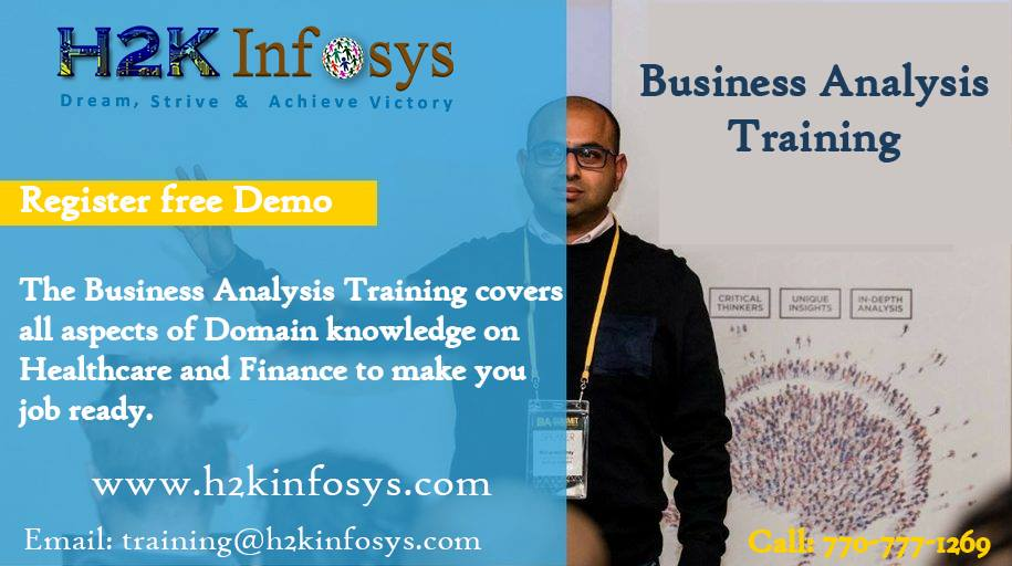Business Analyst Online Training with Projects