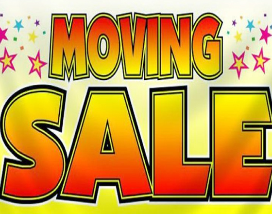 Move Out Sale - Selling everything
