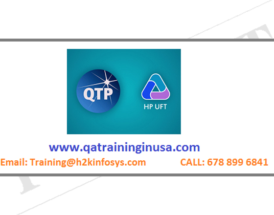 UFT Online Training With Live Project