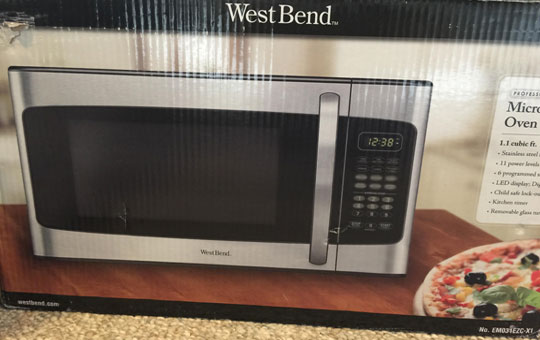 Brand New West Bend Stainless Steel Microwave...