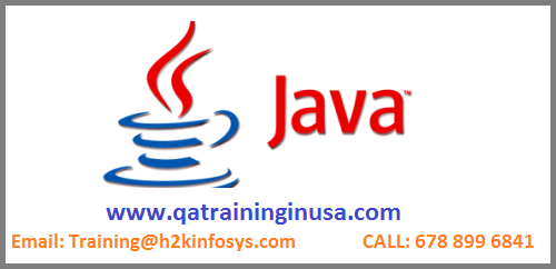 Java Online Training with Placement Assistance