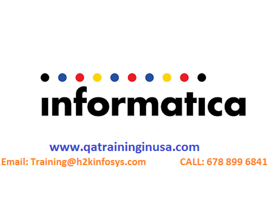 Informatica Online Training with Live Project