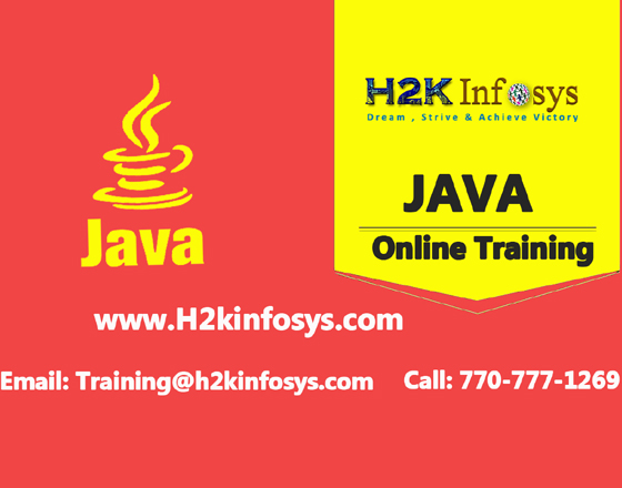 Java Online Training Course by H2KInfosys