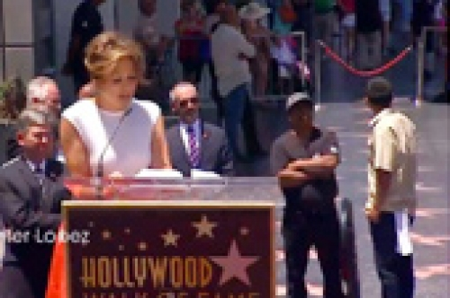 Events Jennifer Lopez Hollywood Walk of Fame 42102