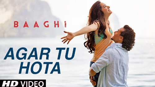 agar tu hota video song baaghi