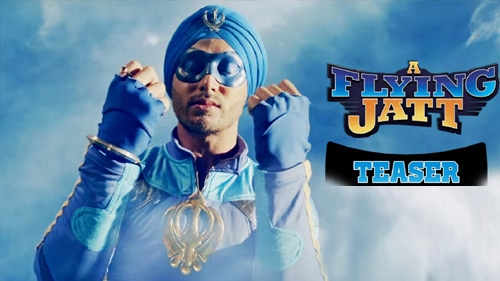 a flying jatt official teaser