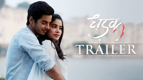 dhadak official trailer
