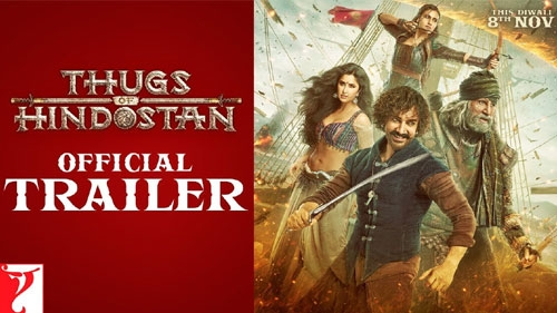 thugs of hindostan official trailer