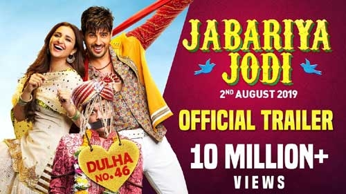jabariya jodi official trailer