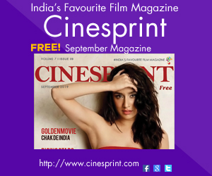 Cinesprint Magazine sqare ad