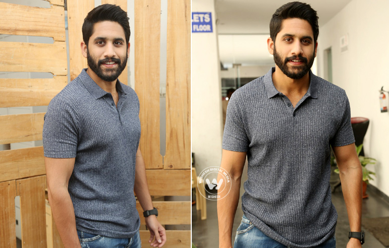 Savyasachi Movie Promotions Photos | Photo 1of 10 | naga-chaitanya-01 | Naga Chaitanya At Savyasachi Movie