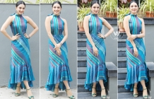 Kiara Advani At Vinaya Vidheya Rama Promotions
