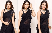 Nidhhi Agerwal At ISmart Shankar Movie Promotions