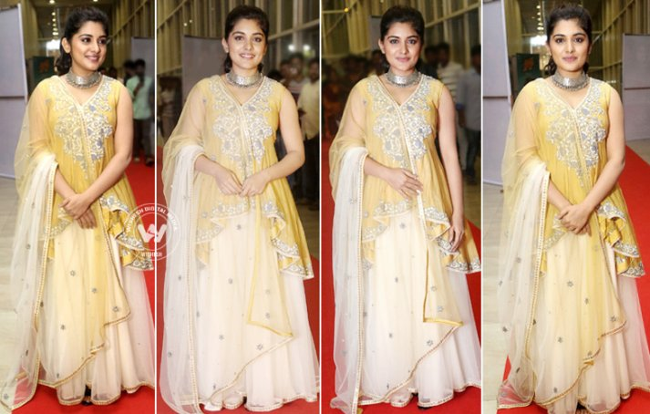 Nivetha Thomas At Ninnu Kori Pre-Release Event
