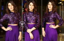 Raashi Khanna At Prati Roju Pandage Movie Trailer Launch