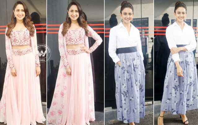 Rakul Preet And Pragya Jaiswal Latest Stills