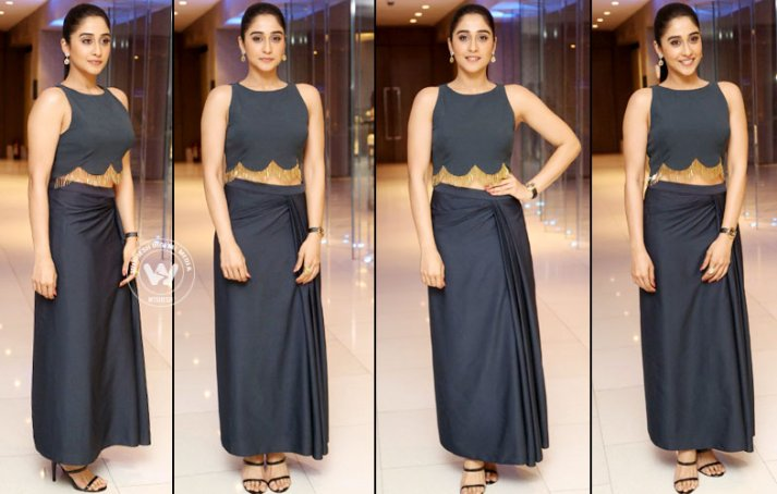 Regina Cassandra At Nagaram Success Meet stills