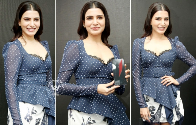 Samantha Akkineni Launches One Plus Mobile At Big C