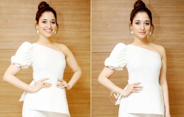 Tamanna Bhatia At Action Movie Pre Release Event