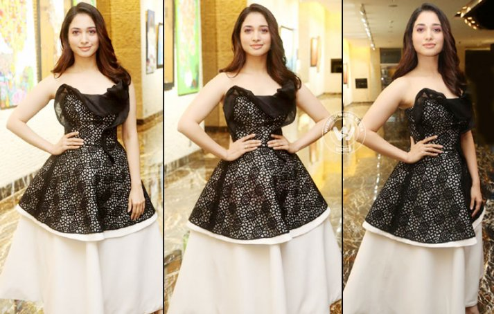 Tamannaah At Naa Nuvve Audio Launch