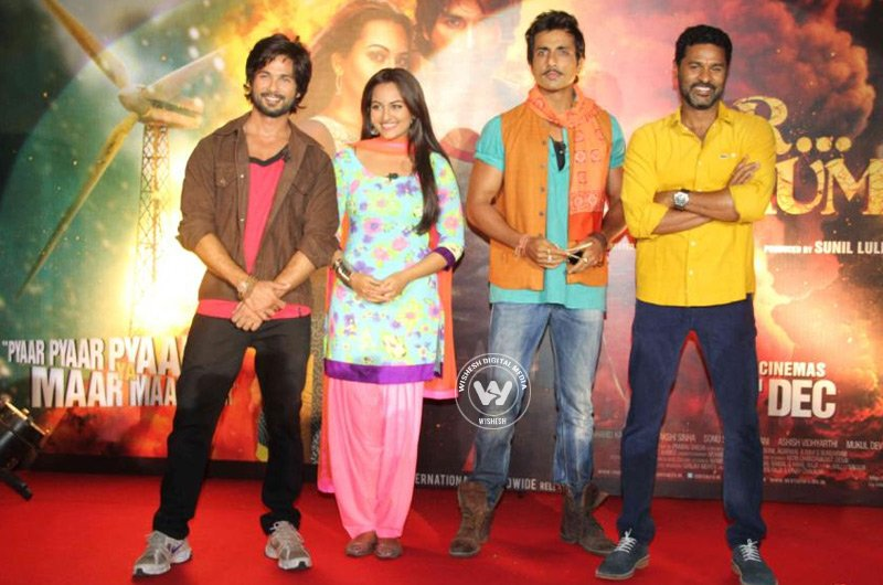 R.. Rajkumar Movie Trailer Launch Stills