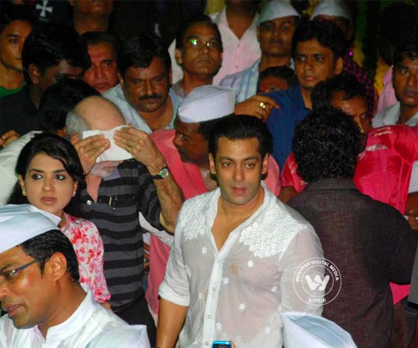 Salman Khan Celebrations Ganesh Chaturthi