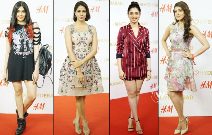 Actress At H&M Hyderabad Store Launch