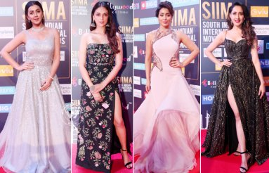 Celebs At SIIMA Awards 2018