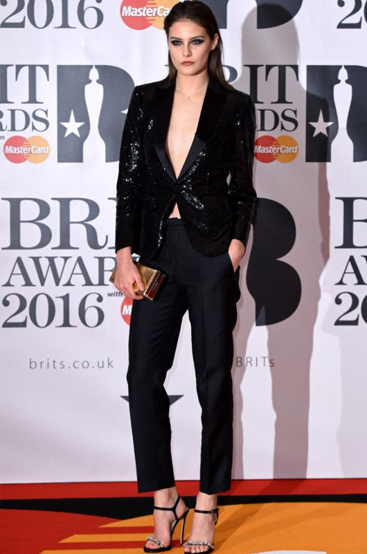 Perrie Edwards | brit-awards22 | Geri Horner | Photo 22of 30