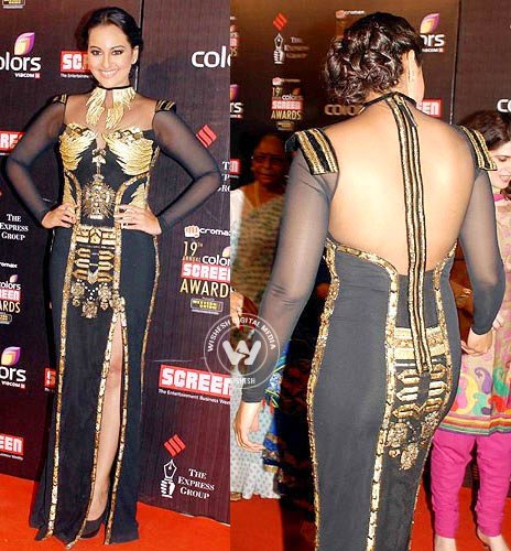 Bollywood's bad-dressed actress 2013