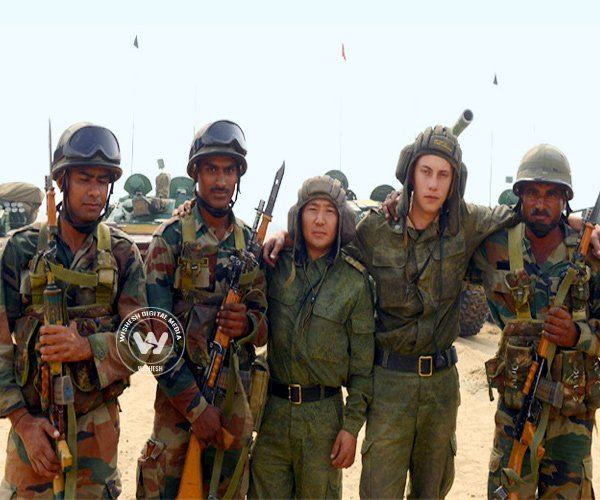India, Russia war games warm desert of Rajasthan!