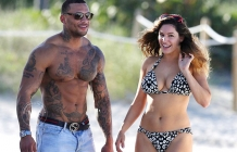Kelly Brook David McIntosh enjoys day out
