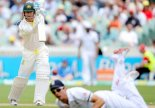 Clarke hits ton to take Test away from england