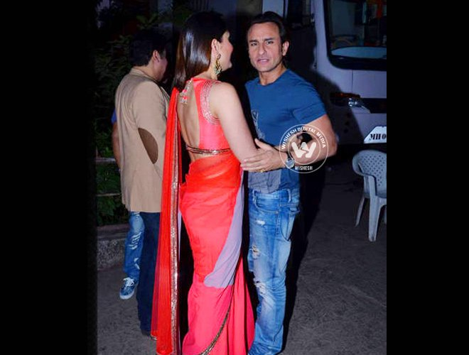 Saif and Kareena Spotted with Friends