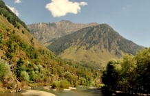 Spectacular natural beauty at Pahalgam, Kashmir