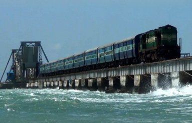 The Sea Bridge Ride (Mandapam - Pamban- Rameswaram)