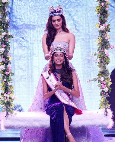 Anukreethy Vas: Femina Miss India 2018