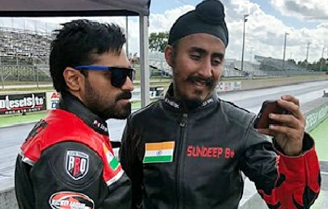 First Indian Bikers at World Drag Racing Finals