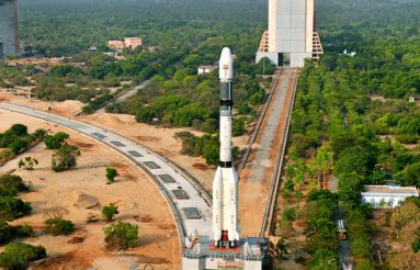 Panoramic view of GSLV-F06