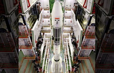 Fully Integrated GSLV-F09