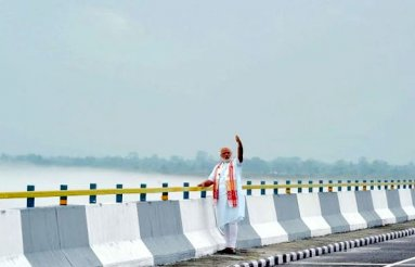 Narendra Modi Inaugurated The Dhola-Sadiya Bridge