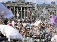 Pillow Fight Pics
