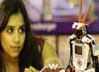 Young innovators to build their first robots