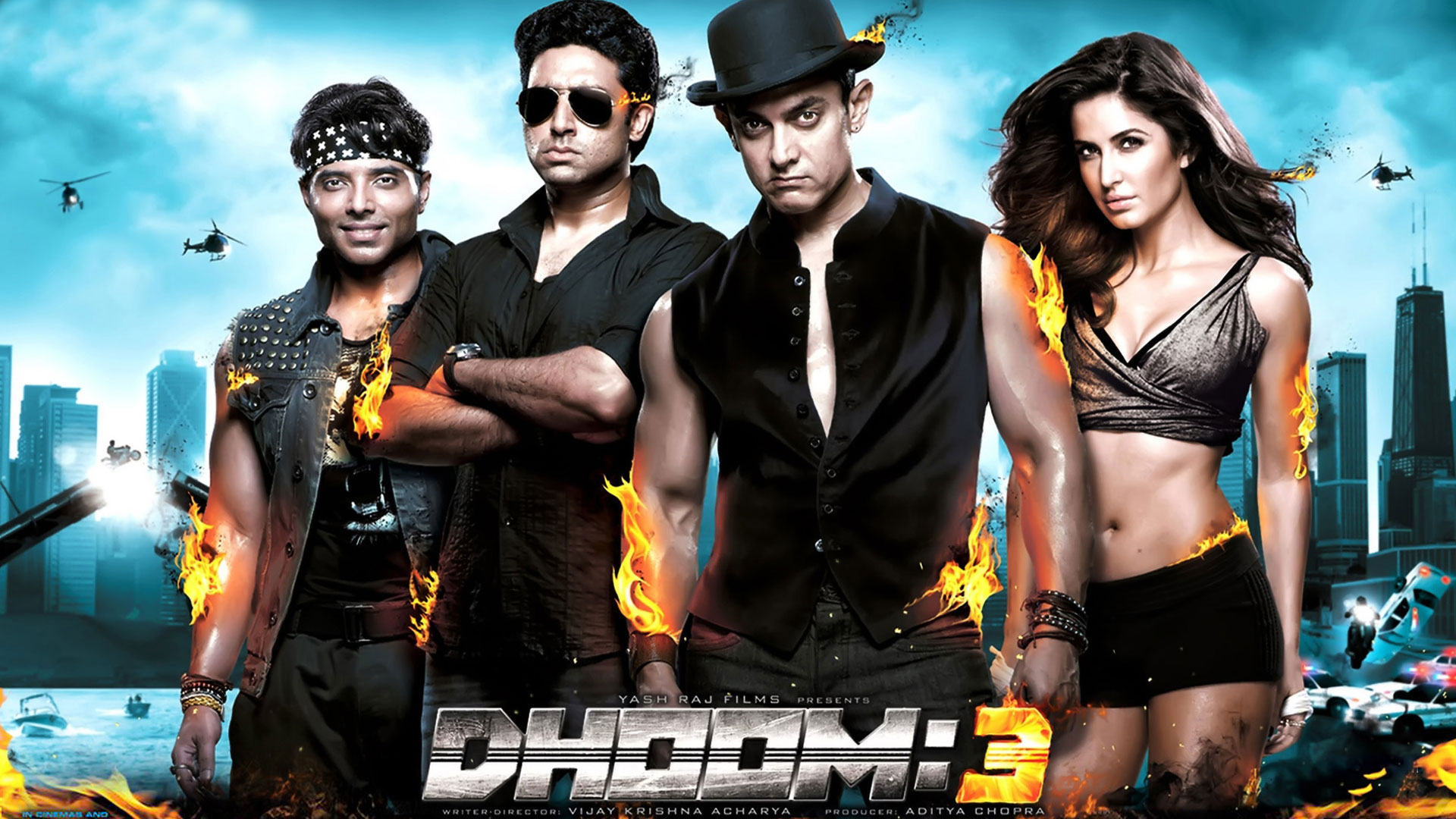 Wallpaper 1of 5 | Dhoom 3 Movie wallpapers | Dhoom 3 Wallpapers | Dhoom 3 Movie wallpapers
