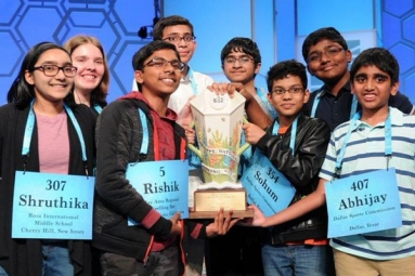7 Indian Origin Students Among 8 Win Scripps National Spelling Bee