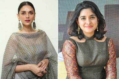 Aditi Rao and Nivetha Thomas For Nani's Next