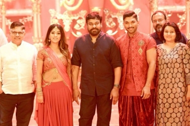 Allu Arjun Surprised with Megastar's Gesture