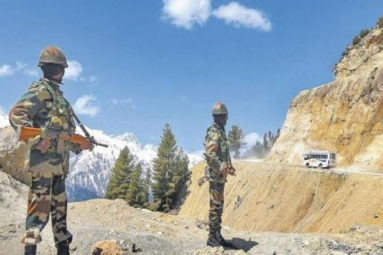 Up To The Minute : Chinese Soldier Imprisoned In Ladakh