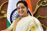 swaraj speaks with france, swaraj speaks with france, eam sushma swaraj speaks with french foreign minister after azhar s asset freeze, Ministry of external affairs