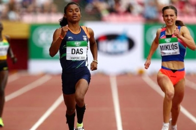 Hima Das Gives India its First Ever Track Gold at the Worlds